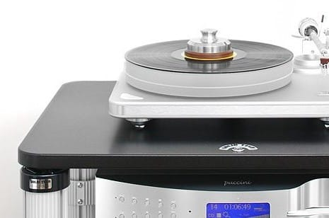 Solid Tech Accessories: Turntable Shelf Large, Feet Of Silence, Discs of Silence  Tt110