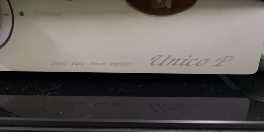 Unison Research Unico P Stereo Valve Mosfet Amplifier - Price Reduced Unico510