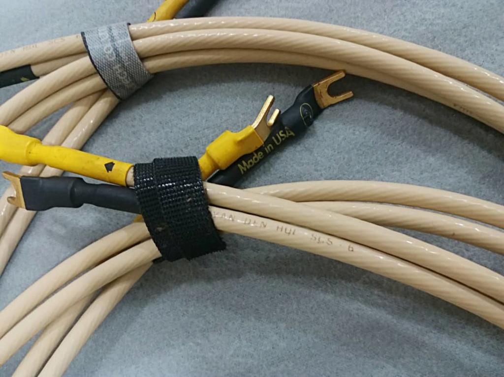 Van Den Hul SCS-6 6gauge Silver Clad Speaker Cables - 2m pair V210