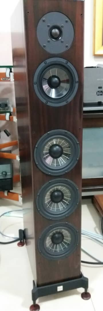Vienna Acoustics Beethoven Concert Grand Speakers -Premium Rosewood Veneer Finishes  V211