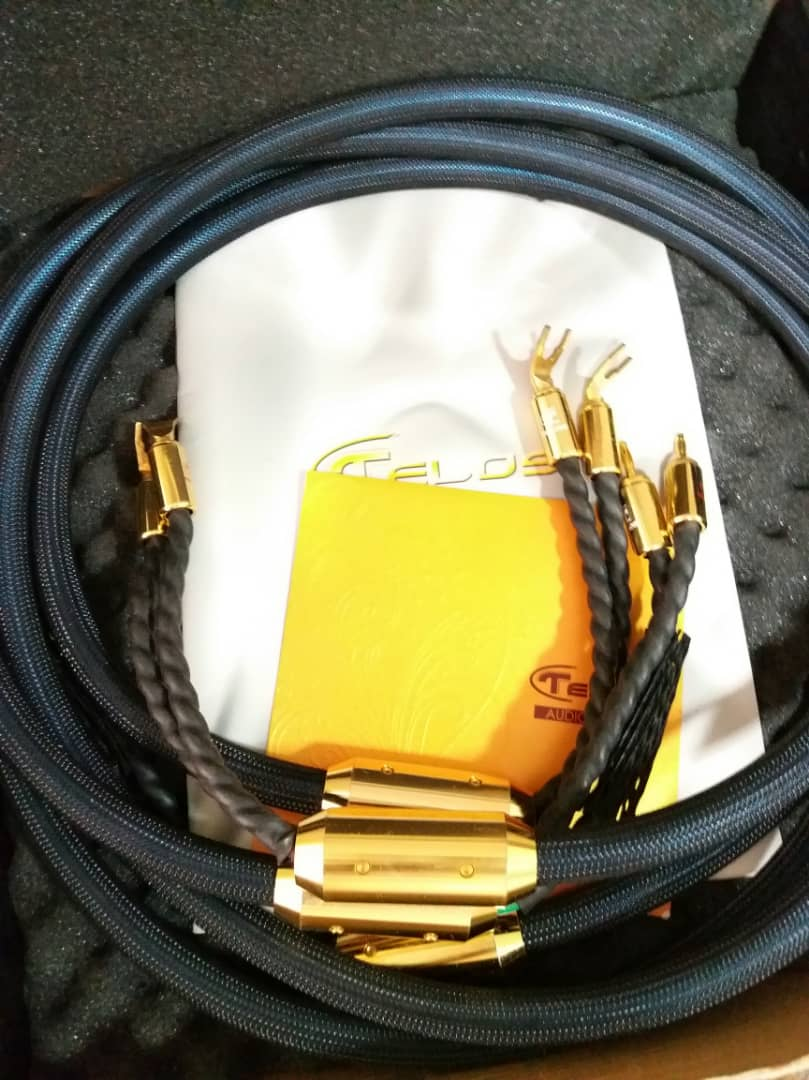 Telos Gold Reference Speaker Cables - 2.5m W311