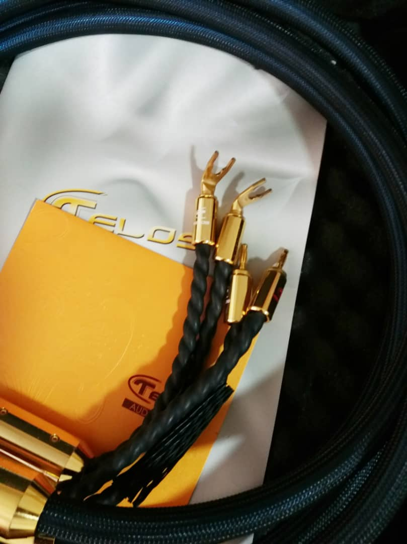 Telos Gold Reference Speaker Cables - 2.5m W411
