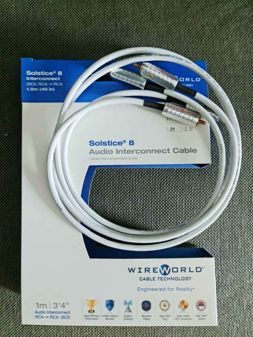 Speaker Cables & Interconnects: Transparent, ASI, Wireworld, The Chord Co, NBS, ASI, Audioquest,  etc Wirewo13