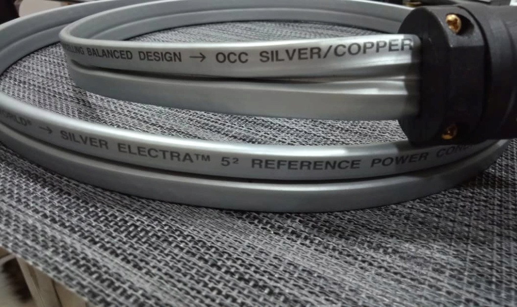 WireWorld Silver Electra 5.2 Power Cables - 1.5m Ww211