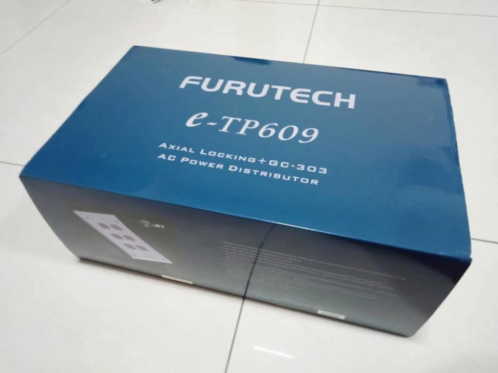 Furutech e-TP609 AC Power Distributor X112