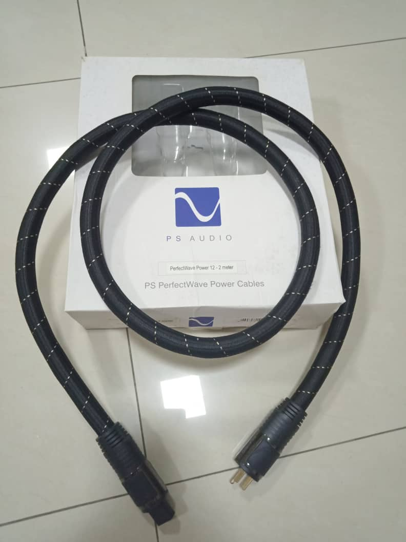 PS Audio AC-12 Power Cables - 2m X115