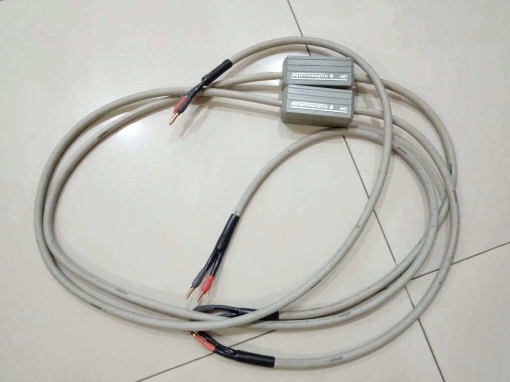MIT Terminator 6 Speaker Cables - 2.5m pair X118