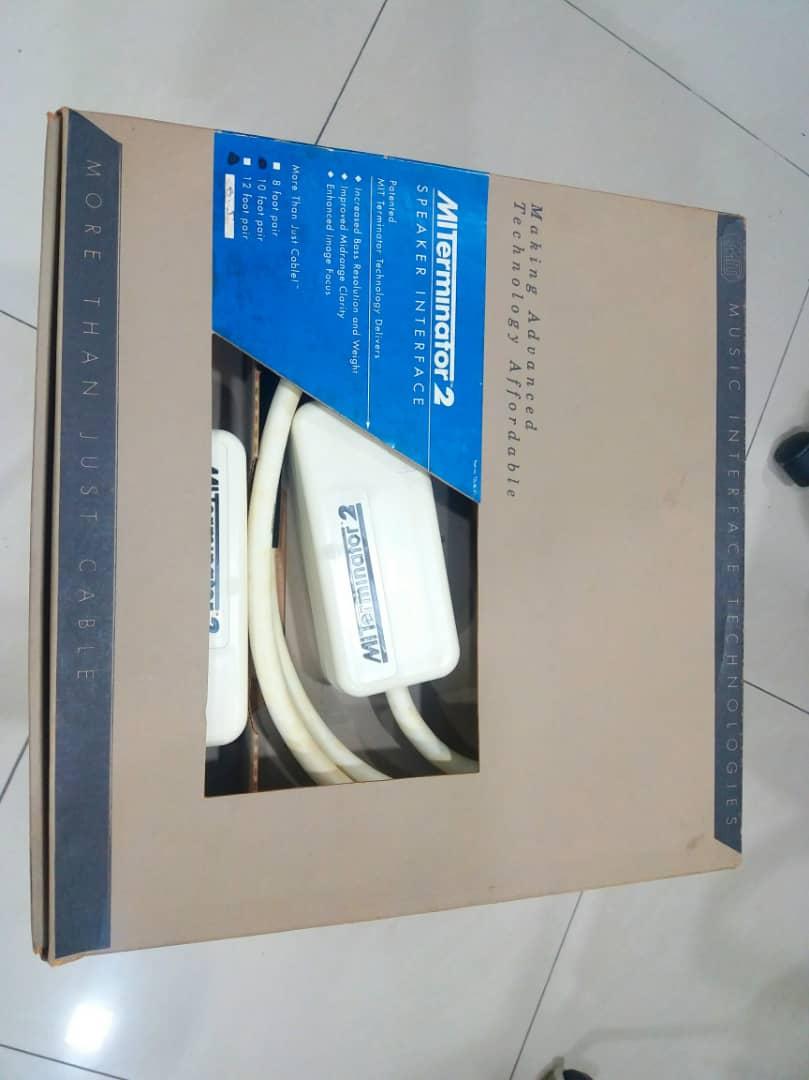 MIT Terminator 2 Speaker Cables - 10ft pair X124