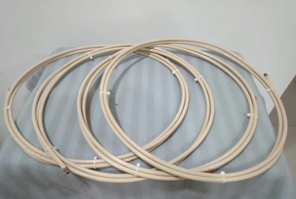 Van Den Hul SCS-6 6gauge Silver Clad Speaker Cables - 8 feet pair X132