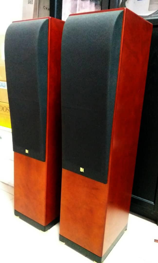 KEF Reference Model Two, 3-Way, 4-Driver Floorstanding Loudspeaker - Rosetta Burr Finish X136