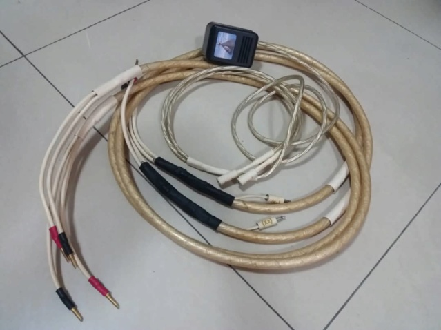 "Synergistic Research, Alpha Quad X Series with ""Active Shielding"" Speaker Cables - 2.5m X152"
