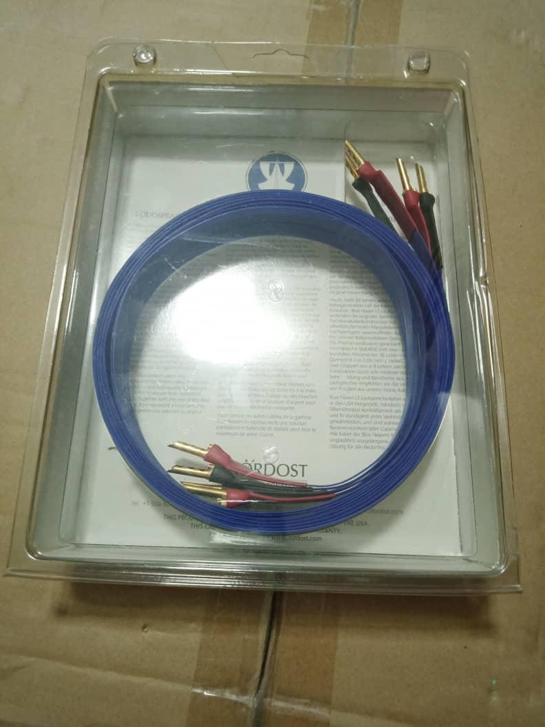 Speaker Cables: Inakustiks, MIT, Supra,  Nordost, Van Den Hul, Tellurium Q, PAD, Studio Connections, Etc.... X214