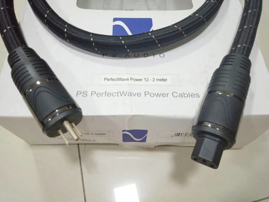 PS Audio AC-12 Power Cables - 2m X315