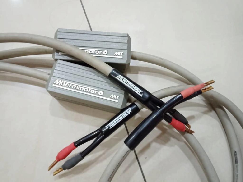 MIT Terminator 6 Speaker Cables - 2.5m pair X319