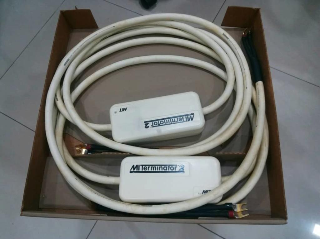 MIT Terminator 2 Speaker Cables - 10ft pair X322
