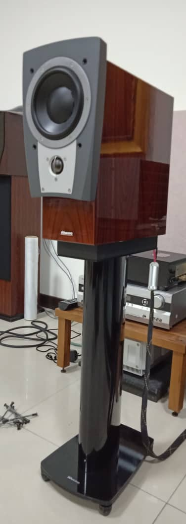 Dynaudio Confidence C1 Speakers with Original Stands - High Gloss Rosewood Finish X339
