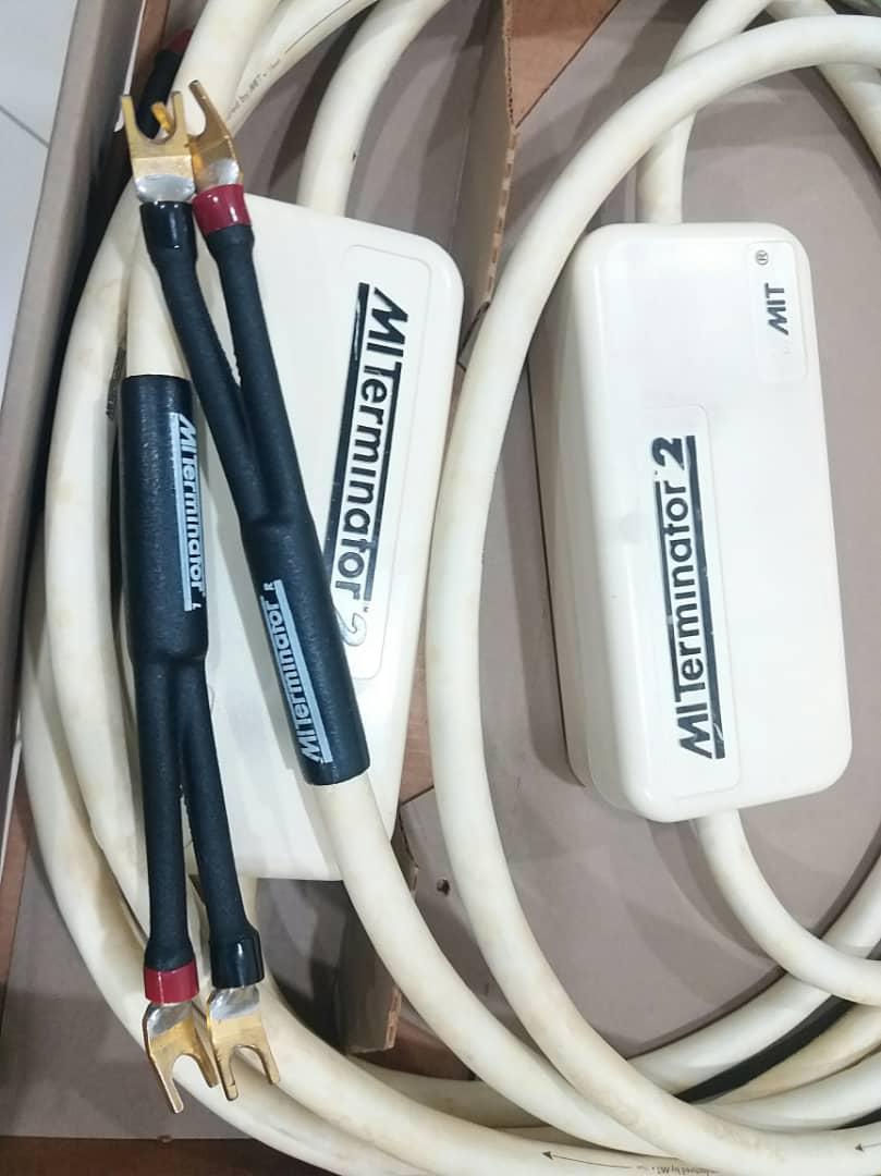 MIT Terminator 2 Speaker Cables - 10ft pair X417
