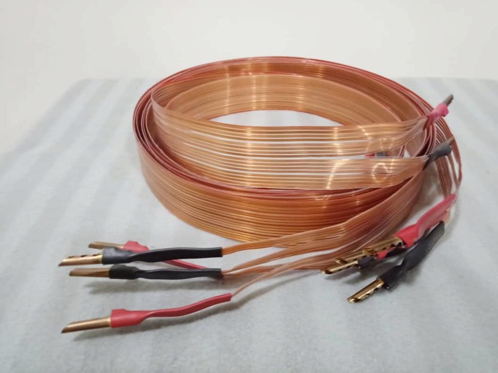 Nordost Flatline Bi-Wire Speaker Cables - 2.5m pair Xa10