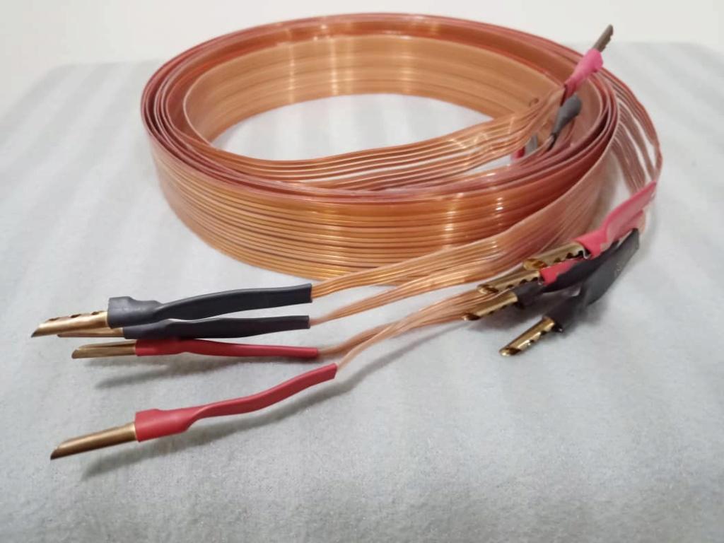 Nordost Flatline Bi-Wire Speaker Cables - 2.5m pair Xc10