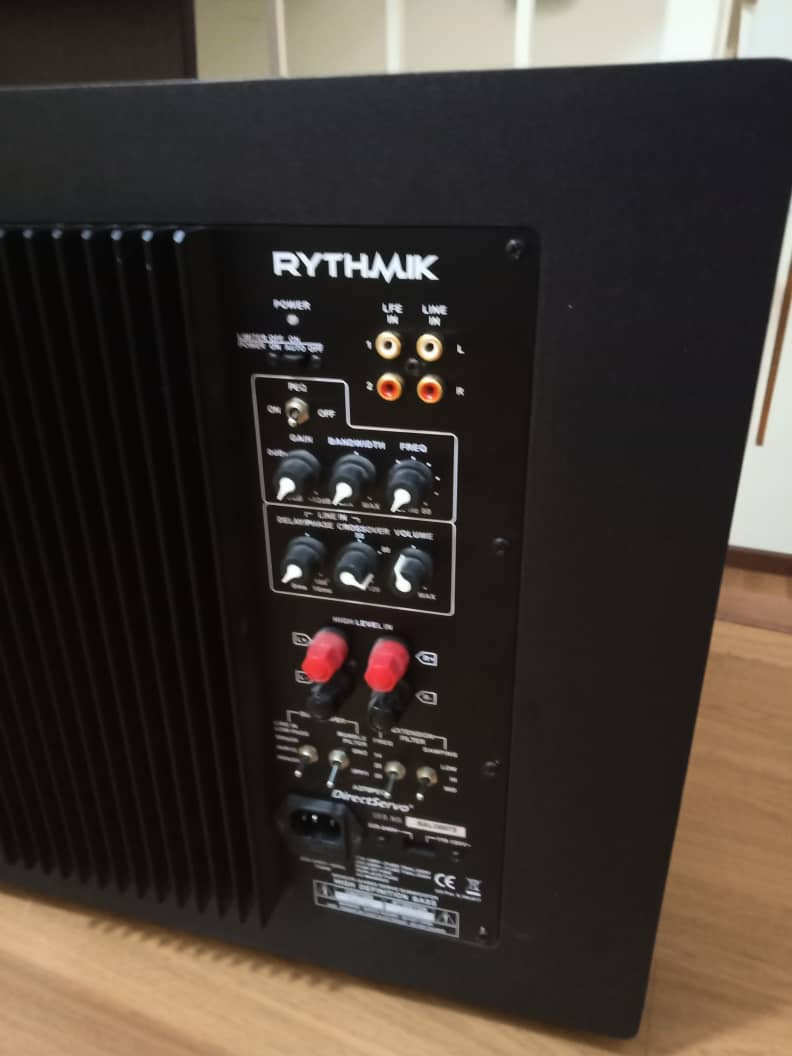 Rythmik F12 Direct Servo Subwoofer Y211