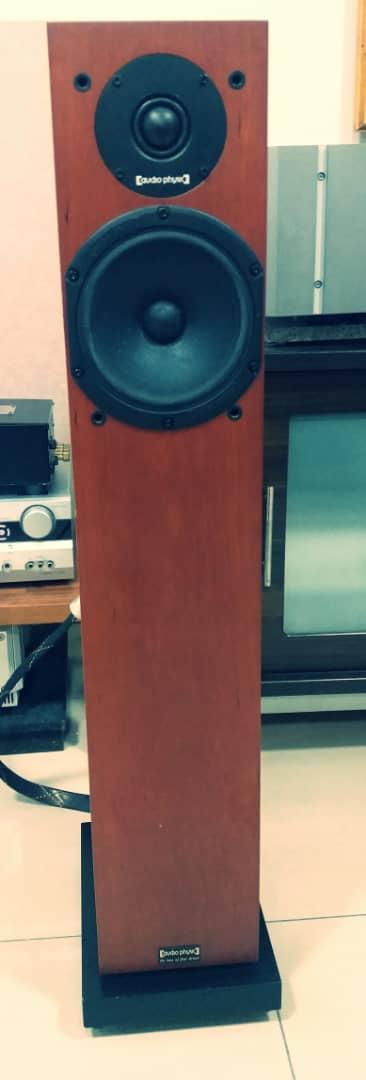 Audio Physic Yara II Evolution Speakers Yara410
