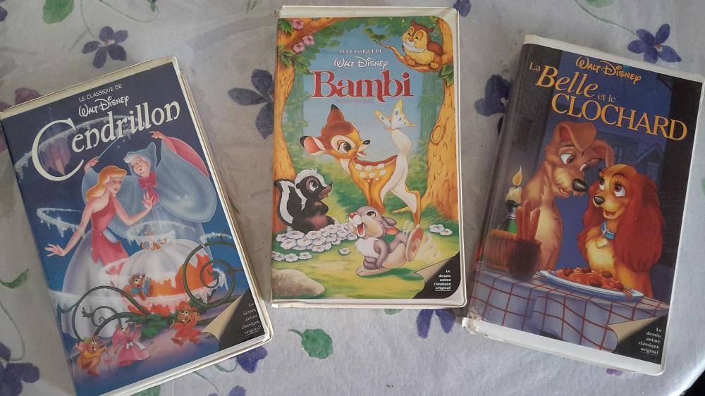 VHS : Les cassettes Disney en France ! 20190354