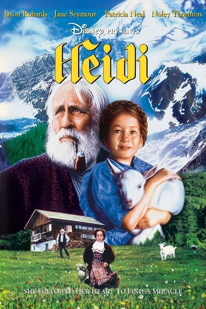 Liste des séries animées qui ont fait l'objet d'un film Heidi10