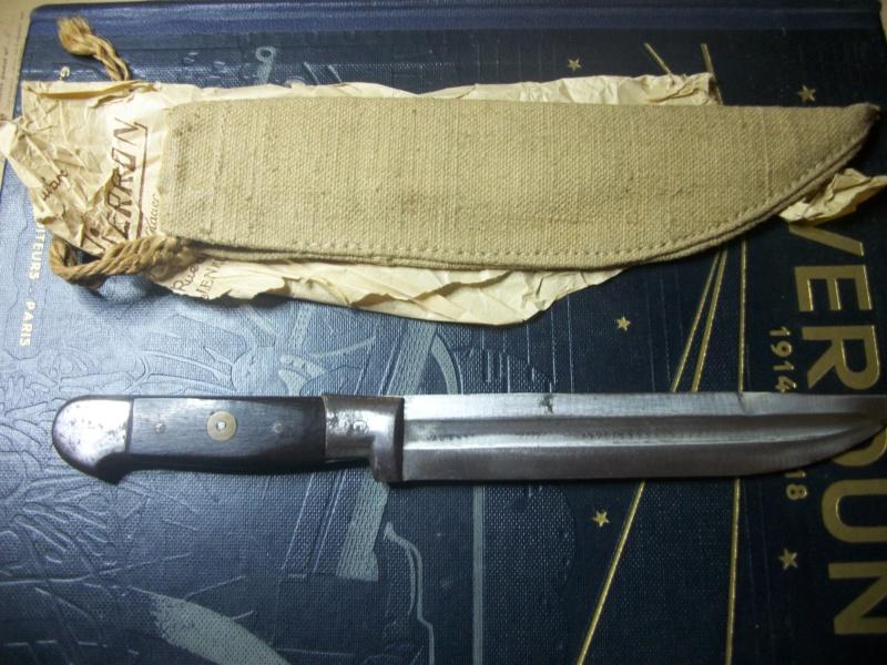Couteau de boucher de tranchee?  00127