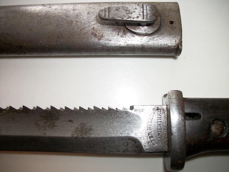Deux baionnettes WW1 00242