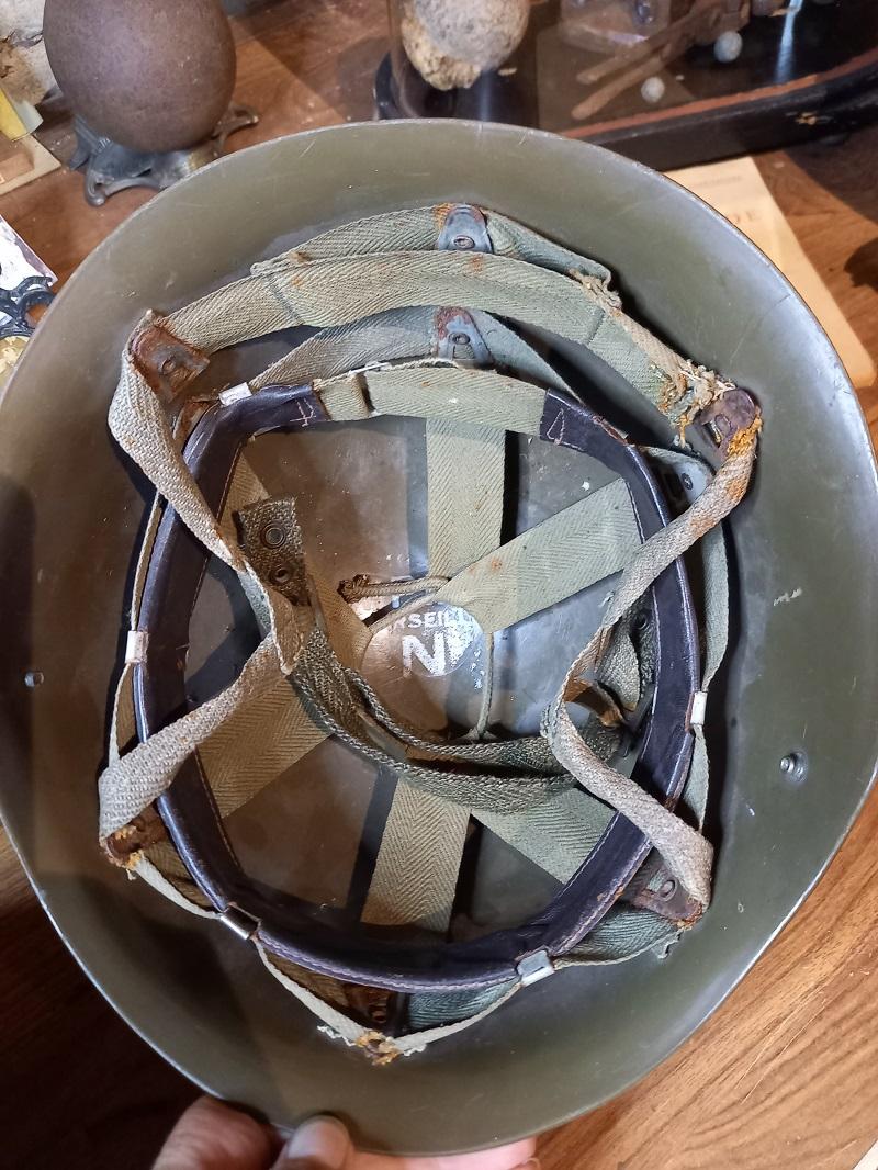Casque Mle 51 TAP insigne chasseur parachutiste 20210714