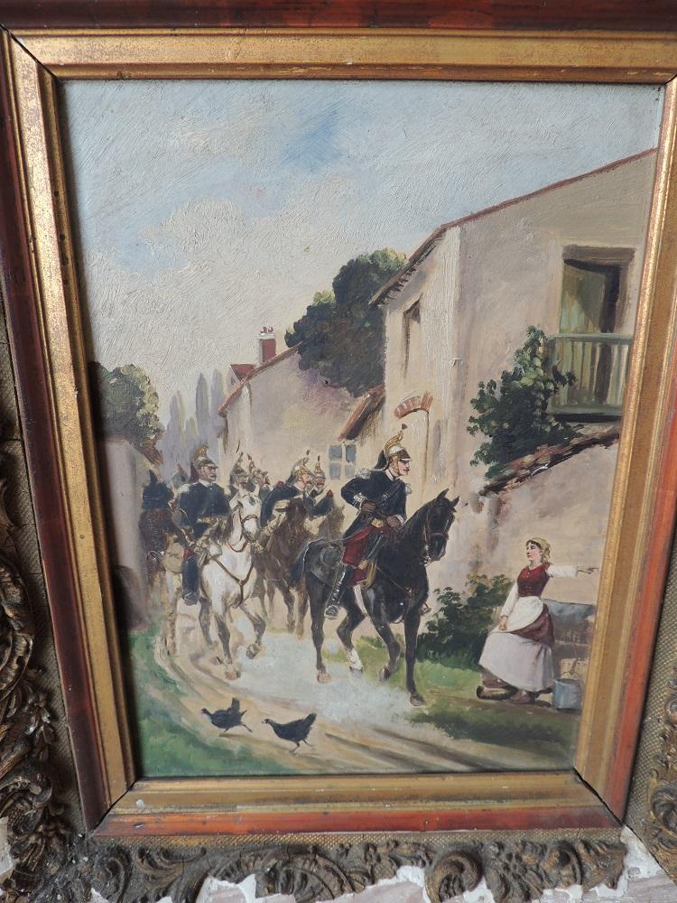 deux peintures 1870 Dscn0010