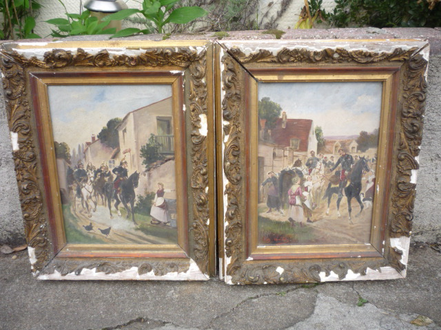 deux peintures 1870 P1040637
