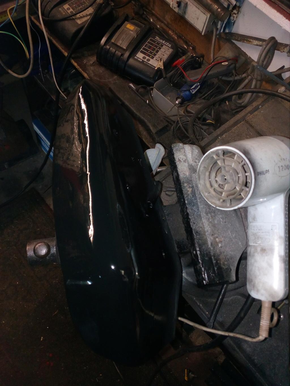 Deflecteur / extracteur de chaleur moteur + ventilo sur Road King 1584  - Page 2 Img_2100