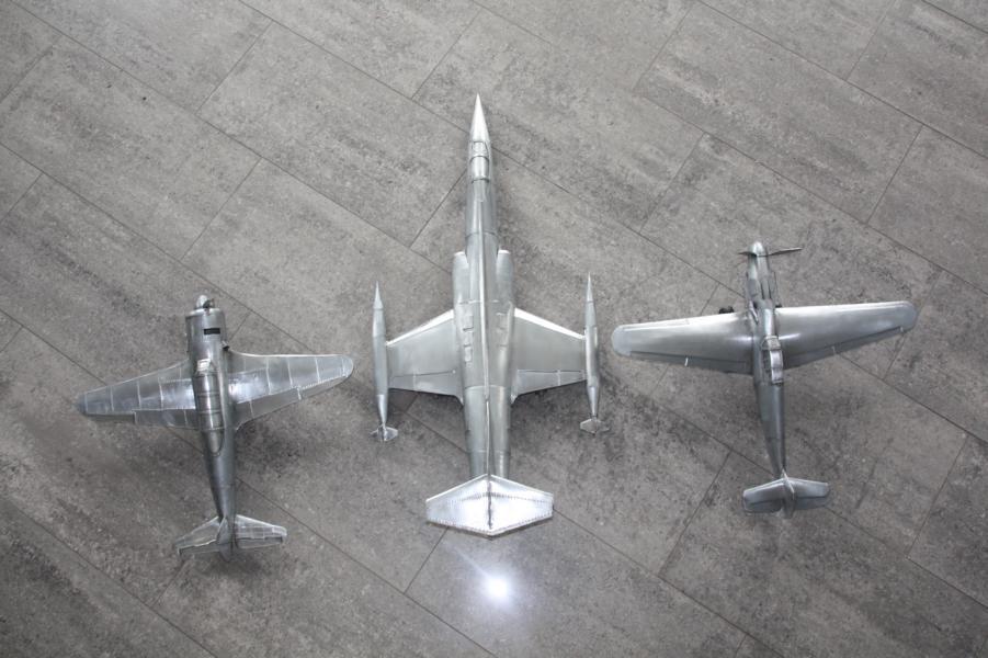 Metallflugzeugmodell F-104 Starfighter in 1/16,5 K800_i60