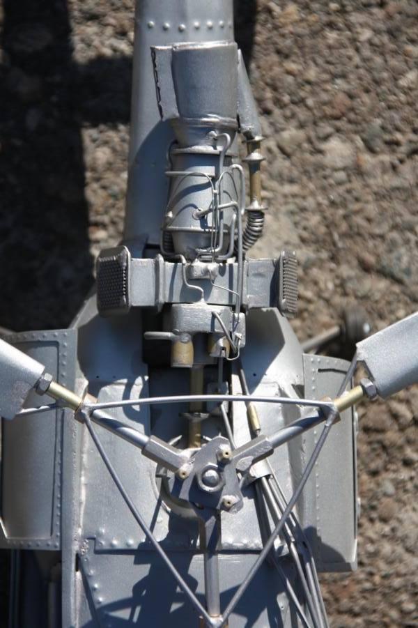 Metallflugzeugmodell Metall12