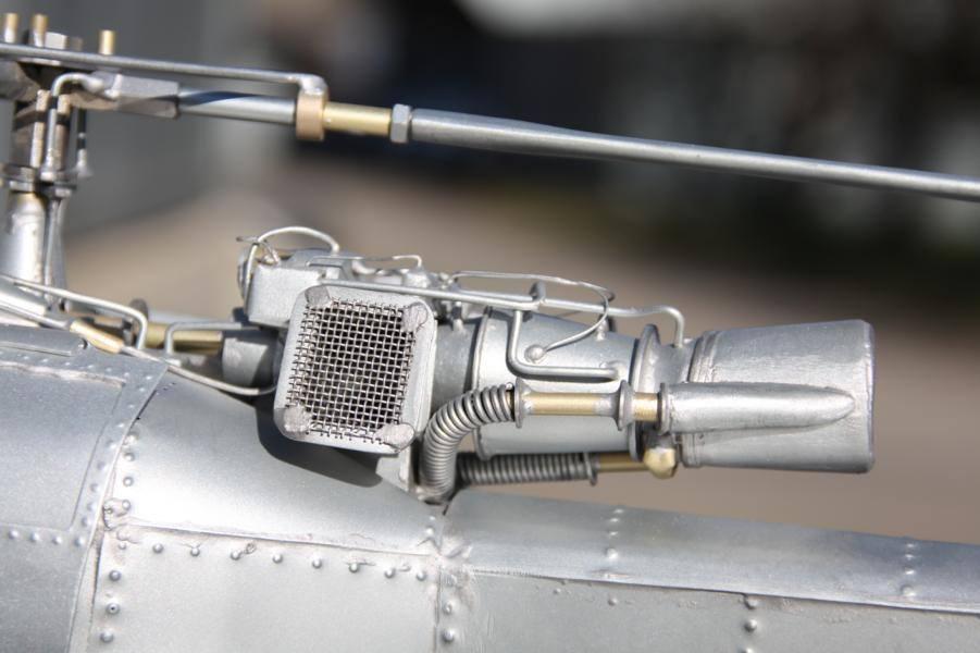 Metallflugzeugmodell Metall14