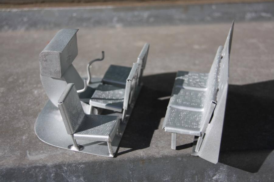 Metallflugzeugmodell Metall16