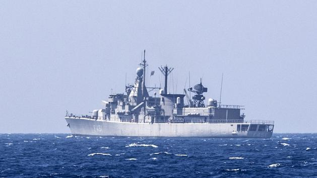 collision fregate F45110