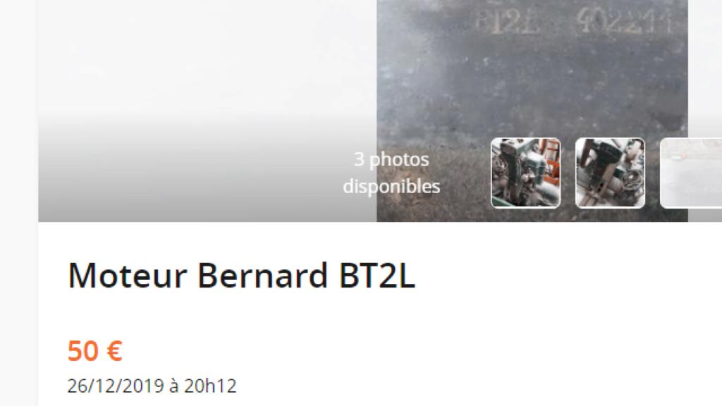 moteur - MOTEUR BERNARD B T 2  L Captur14