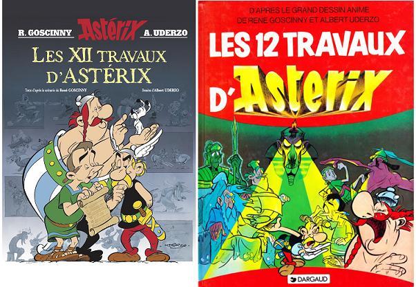 Les 12 Travaux d'Astérix - R. Goscinny A. Uderzo - 1976 12-trv10