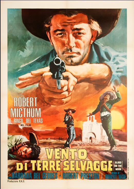Ciel rouge. Blood on the moon. 1948. Robert Wise. Blood-10
