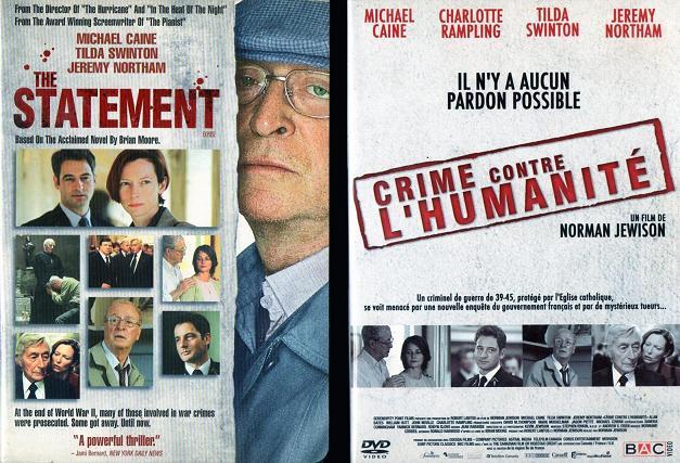 EXPOSÉ - The Statement - Crime Contre L'Humanité (titre français) Norman Jewison 2003 Caine010