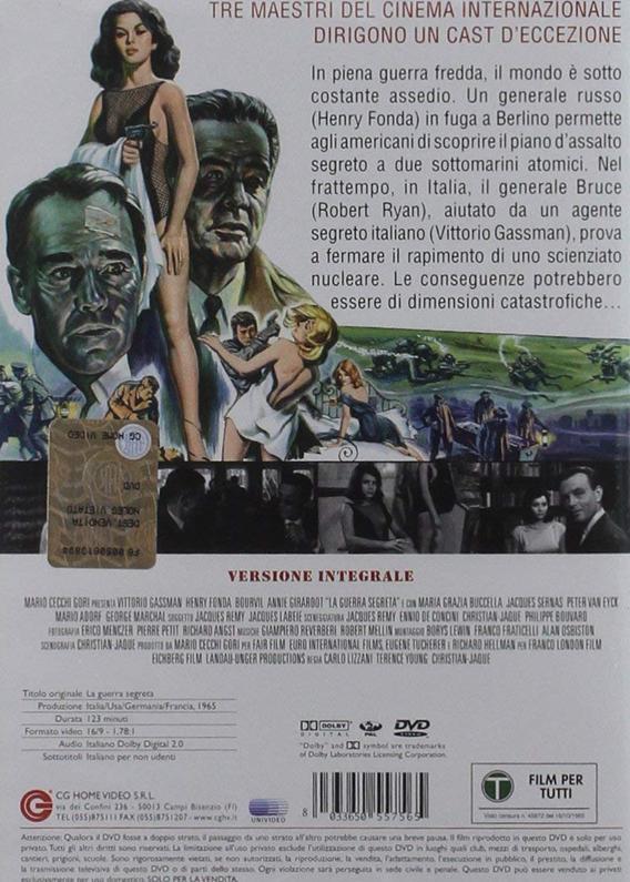 Guerre secrète- The Dirty Game- 1965-Christian Jaque/ W Klinger/ C Lizzani / T Young Copie_10