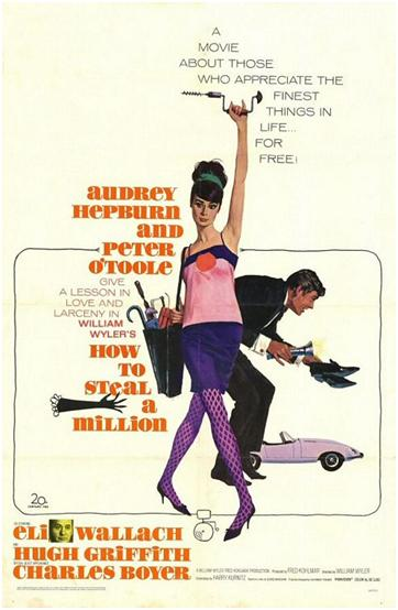 Comment Voler Un Million De Dollars - How To Steal A Million - William Wyler 1966 Ennio015