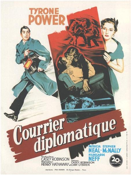 Courrier diplomatique - Diplomatic Courier - 1952 - Henry Hathaway Richta13