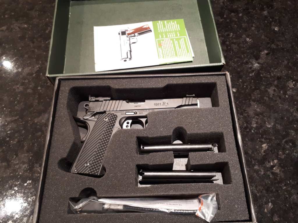 gun review 1911 R1 remington limited een 9mm 20190710