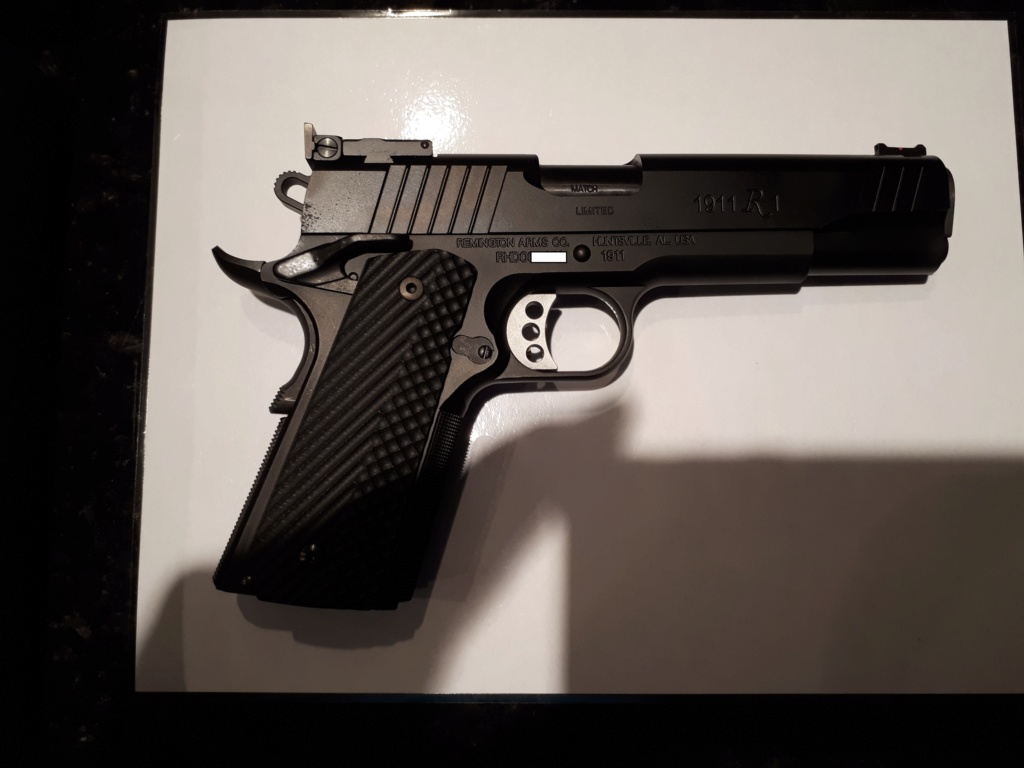 gun review 1911 R1 remington limited een 9mm 20190714