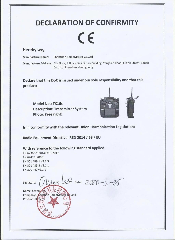 Légalité des radios Jumper et RadioMaster Doc-tx10