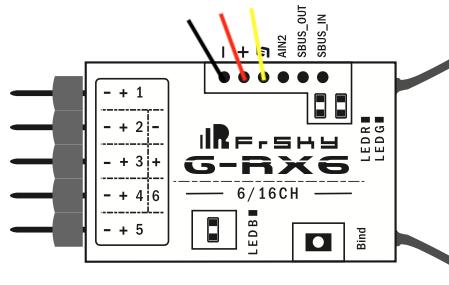 Mise a jour du récepteur RX6R Grx610