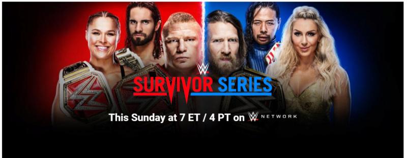 Concours de pronostics saison 8 - Survivor Series 2018 Series12